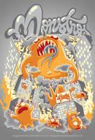 Monster Invasion by anggatantama