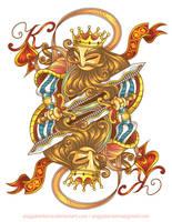 King of Spades by anggatantama