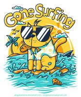 Gone Surfing by anggatantama