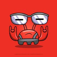 Red Crabby by anggatantama