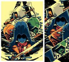 Assassin's creed Unity by anggatantama