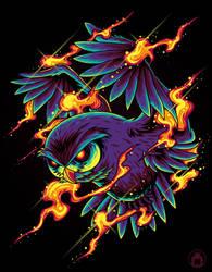 Magical Owl by anggatantama