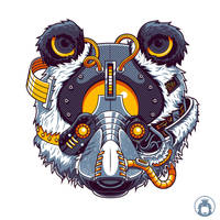 Panda of Steel by anggatantama