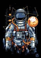 Astronaut by anggatantama