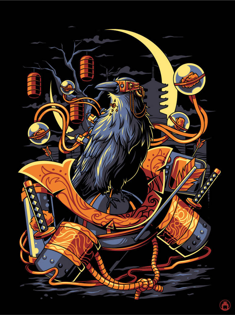 Crow by anggatantama