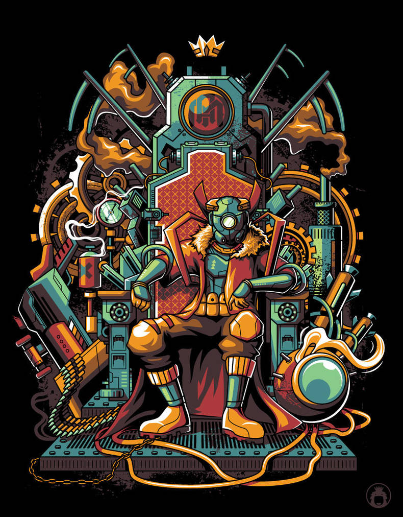 The Throne by anggatantama