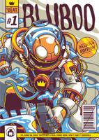 Bluboo Comic Cover Art by anggatantama
