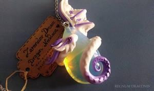 Lavender Dream - Dragon Necklace by RegnumLaternis