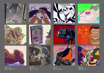 Best of Patreon May-August '18 by porkcow