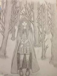 La fille dans la foret by alicesutaren