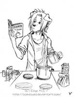 Dinner for Dummies - sketch by oomizuao