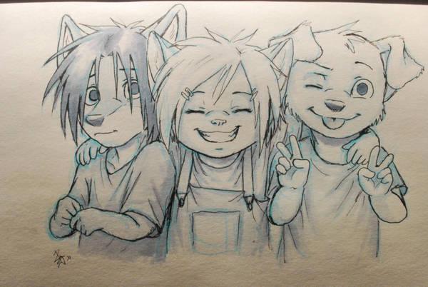 friendship by oomizuao