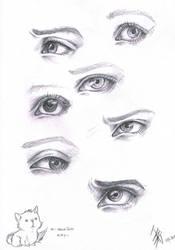 expressive eyes by oomizuao