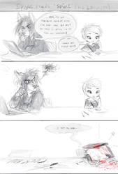 Spike reads SPIKE by oomizuao