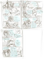 rough comic page layouts by oomizuao