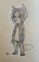 Lil' grump by oomizuao