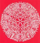 Abstract Flake 2 - Arrowhead by ChimeraDragonfang
