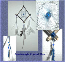Quadrangle Crystal Blue by ChimeraDragonfang