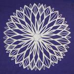 Abstract Flake 8 - Lotus by ChimeraDragonfang