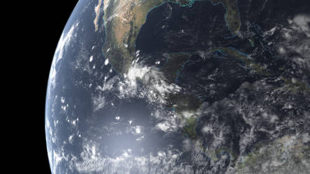 Planet Earth 1 by artislight