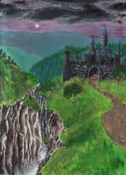 Night Castle by artislight