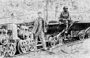 Coal Miner Train by artislight