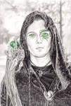 Green Eyes--Kiribian by JLDragonfly