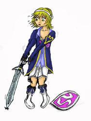 Early AR-Kayn Female Warrior Regression by AR-Oasis