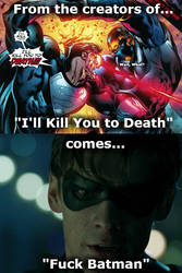 DC Comics and His Edgy Quotes by Simbiothero