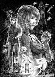 Fatal Frame 3 The Tormented Fan Art by Demento-Liszt