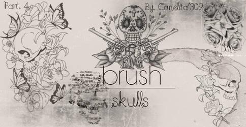 Skull Brushes Part 4 By Canelita309 by SriitaDeWatt