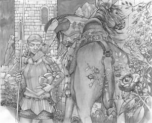 Warrior Woman by ickessler