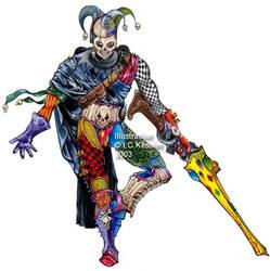 WH40K Death Jester by ickessler