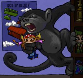 Mynci Kong by ickessler