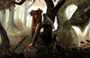 Dragon Lady by kittymadness
