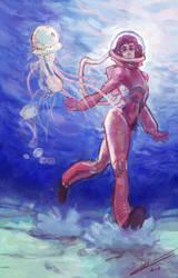 The Diver by NoomiHerran