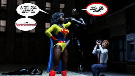 Superwoman of Earth 420 Saves the Day - 1 by JGalley0