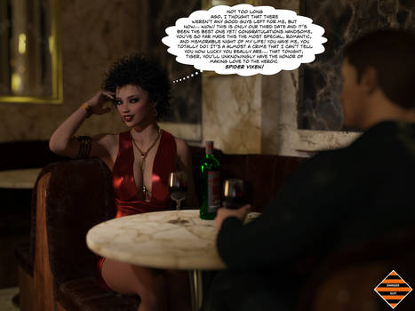 Spider Vixen's Big Date - Part One by JGalley0