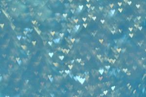 heart blue texture bokeh by erykucciola-sToCk