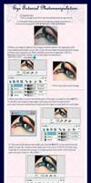 Eye Tutorial Photomanipulation by erykucciola-sToCk