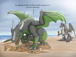 Sandcastle Destruction by RimentusTheDragon