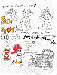 SunSpot The Cool Dalmatian [SunSpot Ice Treats] by JCSStudio