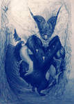 Dragon-Eater by WhiteRose2132