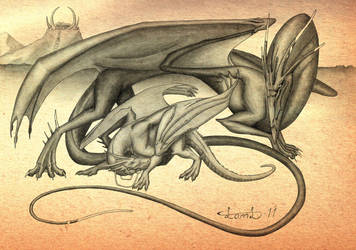 Goddess of the Dragon Legacy by LamLArts