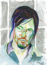Daryl Dixon by opeyuvadown