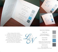 Wedding invitation by S-prinkles