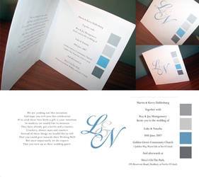 Wedding invitation by S-prinkles