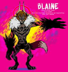 Monster Demon Blaine-ref by Koolaid-Girl