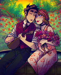 1920s Romance by Koolaid-Girl