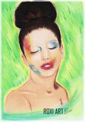 Lady Gaga by roxanamirek